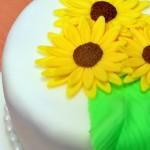 Permanent Link: Solig bröllopstårta