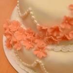Permanent Link: Vacker våningstårta till bröllop