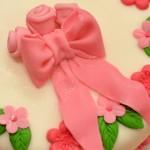 Permanent Link: Tårta med rosett