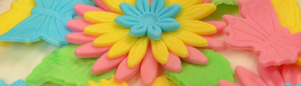 Pastellig tårta