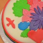 Permanent Link: Färgglad tårta