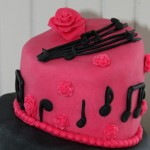 Permanent Link: Topsy Turvy Music Cake
