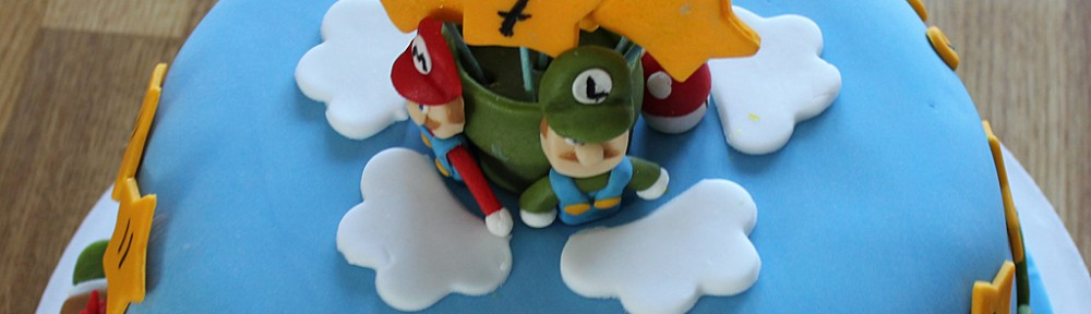 Super Mario Bros tårta