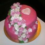 Permanent Link: Vacker rosa tårta