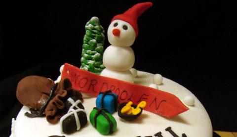Jultårta