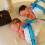 Permanent Link: Doptårta till tvillingar