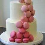 Permanent Link: Bröllopstårta Macarons
