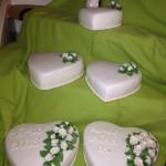 Bröllopstårtor Hjärta