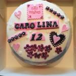 Permanent Link: Dekorerad tårta