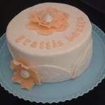 Permanent Link: Tårta med fantasiblomma