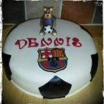 Permanent Link: Fotbollstårta Barcelona