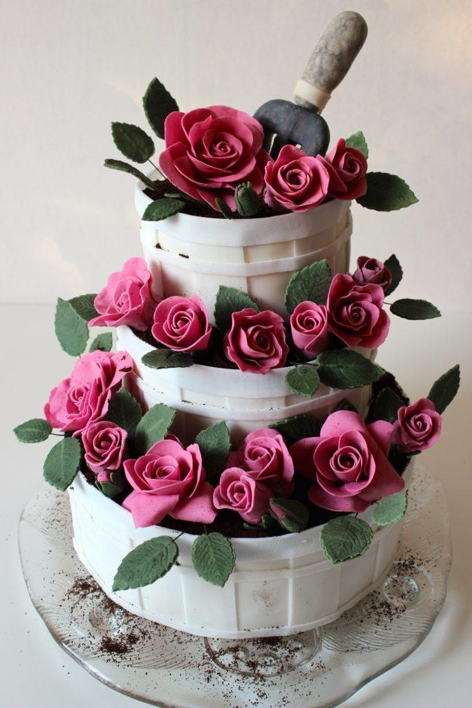 Blommande-tarta