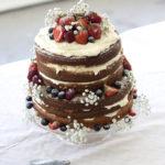 Permanent Link: Naked sponge cake