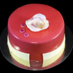 Permanent Link: Elegant glansig choklad-tårta