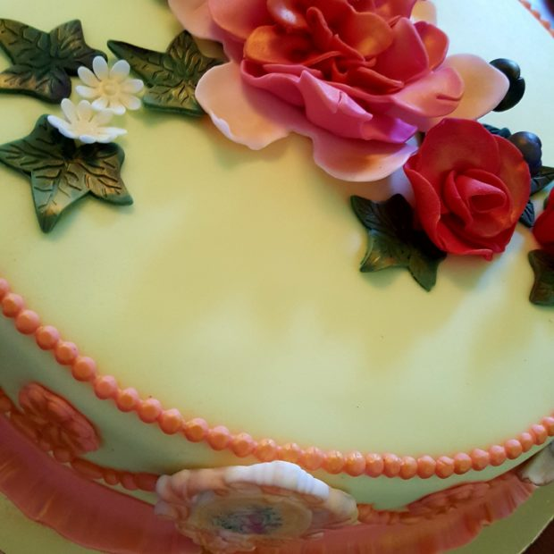 Cake for a Princess. For Grandma.