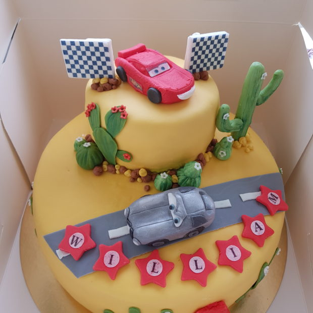 Cars öken-tårta