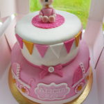 Permanent Link: Sweet pink bunny cake