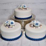 Permanent Link: Bröllopstårta med havstema
