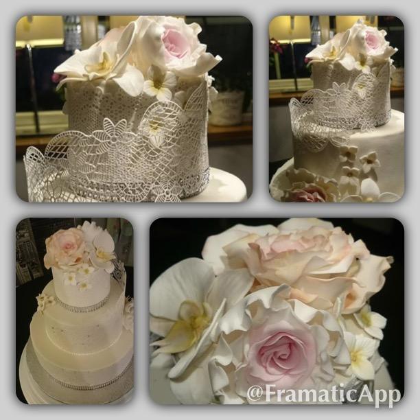 Silverbröllopstårta