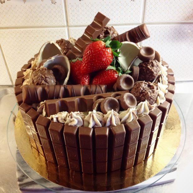 Chokladälskarens tårta