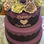 Permanent Link: Bröllopstårta i rockigstil