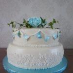 Permanent Link: Blomstrande dop tårtan