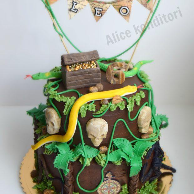 Indiana Jones tårta