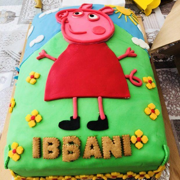 Greta Gris tårta