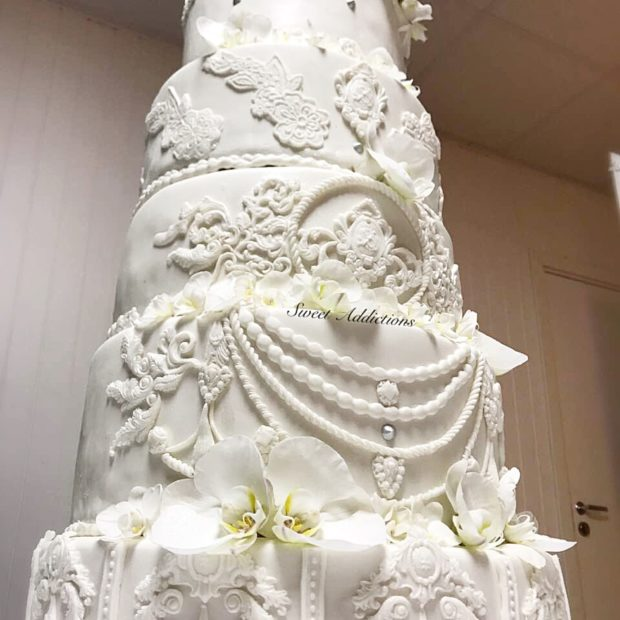 The weddingcake for a queen