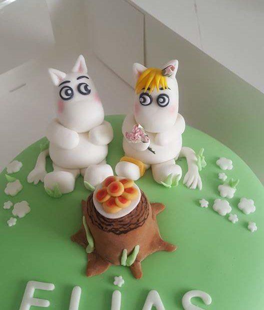 Mumintrollet tårtkalas