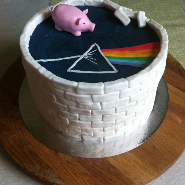 Födelsedagstårta till Pink Floyd-fan