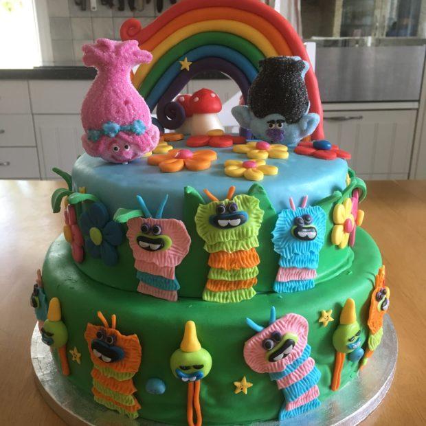Födelsedagstårta – Trolls
