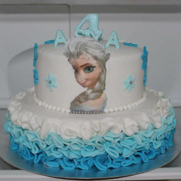 Elsa tårta