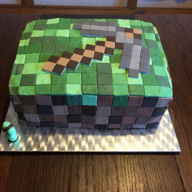 Minecraft tårtan