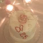 Permanent Link: Glutenfri bröllopstårta