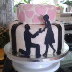 Permanent Link: Förlovingstårta