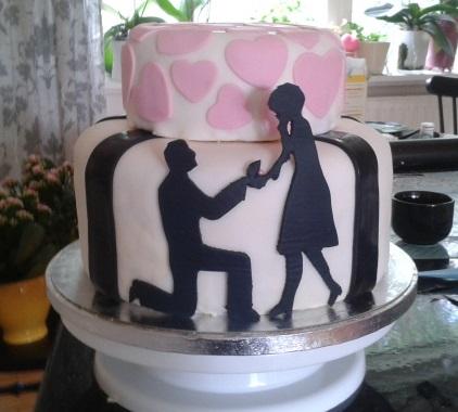 Förlovingstårta