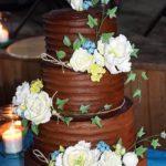 Permanent Link: Rustik bröllopstårta