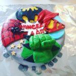 Permanent Link: Superhero cake