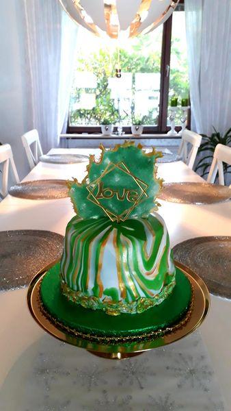 Grön Paradistårta
