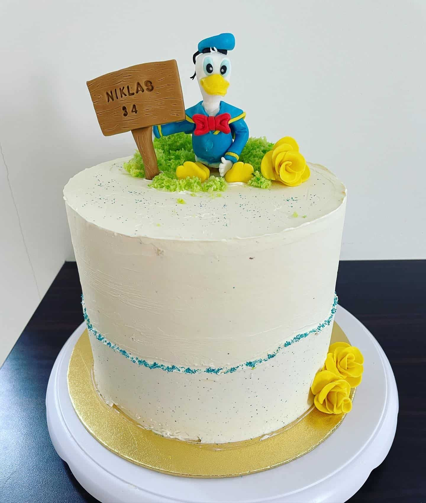 Kalle Anka tårta